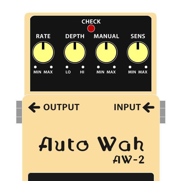 BOSS_AW-2_Auto_Wah-オートワウイラスト