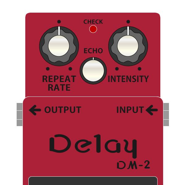 BOSS_DM-2_Delay_ディレイ