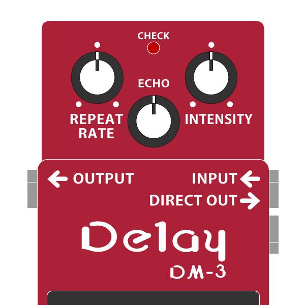 BOSS_DM-3_Delay_ディレイ