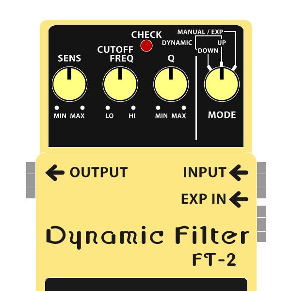 BOSS_FT-2_Dynamic_Filter_ダイナミックフィルターイラスト