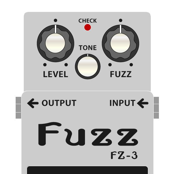 BOSS_FZ-3_Fuzz_ファズイラスト