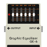 GE-6 Graphic Equalizer(グラフィックイコライザー)