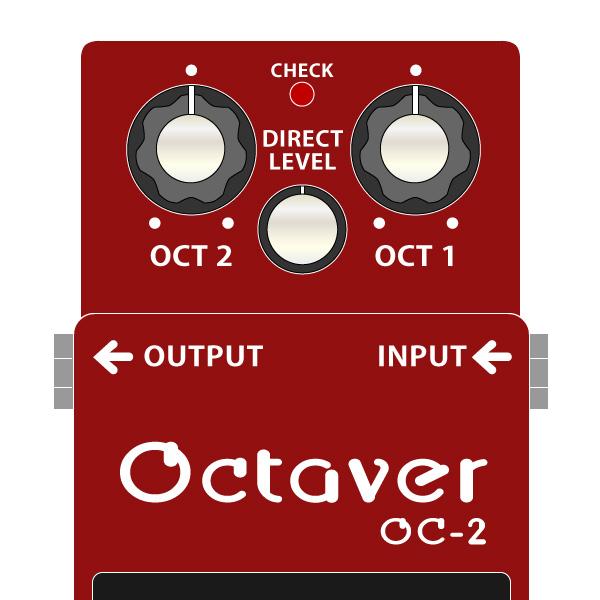 BOSS_OC-2-Octaver-オクターバーイラスト
