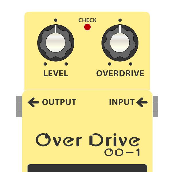 BOSS_OD-1_OverDriveイラスト