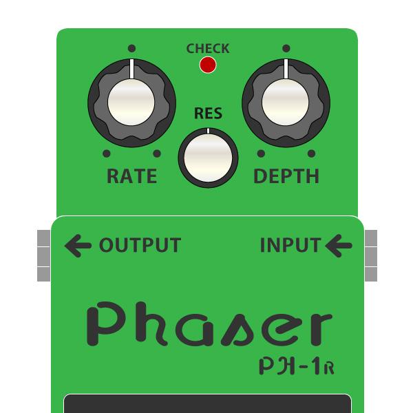BOSS_PH-1R_Phaser_フェイザーイラスト
