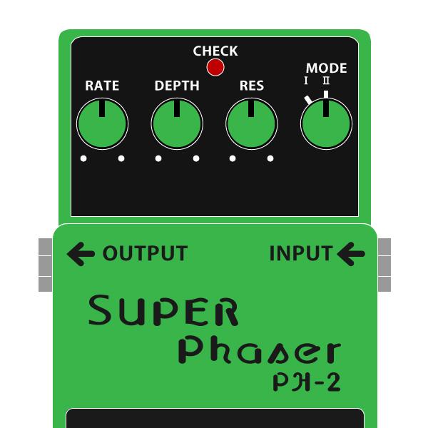 BOSS_PH-2_SUPER_Phaser_スーパーフェイザーイラスト