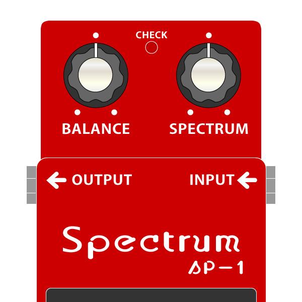 BOSS_SP-1_SPECTRUM_スペクトラムイラスト
