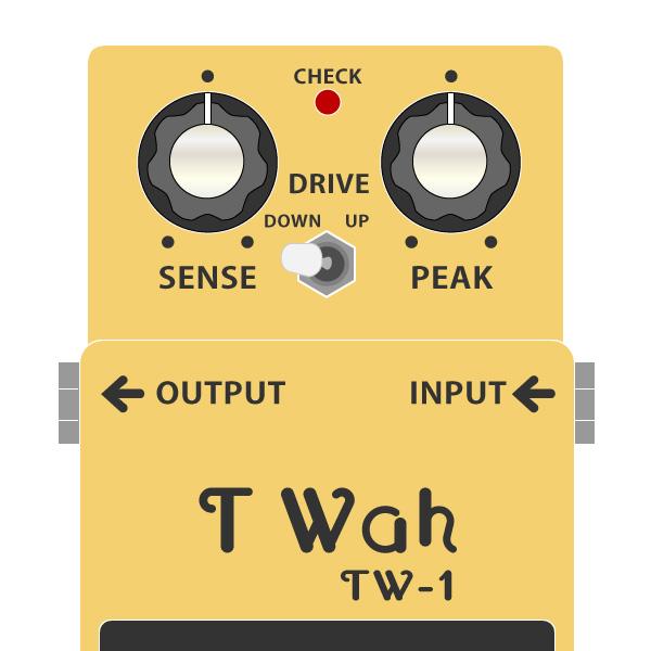 BOSS_TW-1_T_wah-タッチワウイラスト