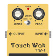BOSS_TW-1_Touch_wah-タッチワウイラスト