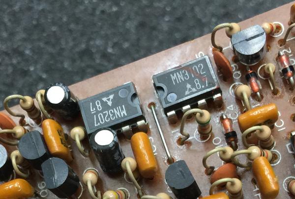 CE-3 Chorus 遅延素子