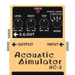 AC-2 Acoustic simulator(アコースティックシミュレーター)