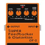 DF-2 SUPER Feedbacker&Distortion(スーパーフィードバッカー / ディストーション)