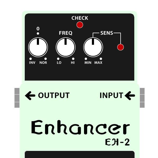 BOSS_EH-2_Enhancer_エンハンサーイラスト