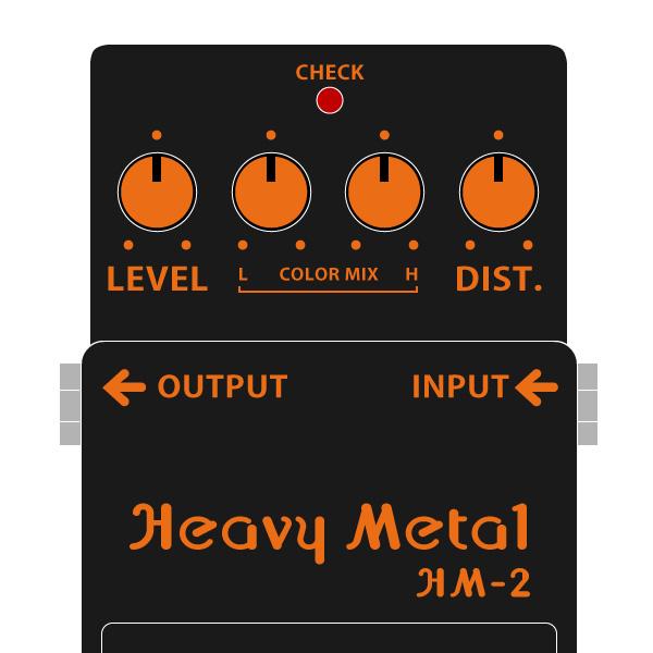 BOSS_HM-2_Heavy_Metal-ヘビーメタルイラスト