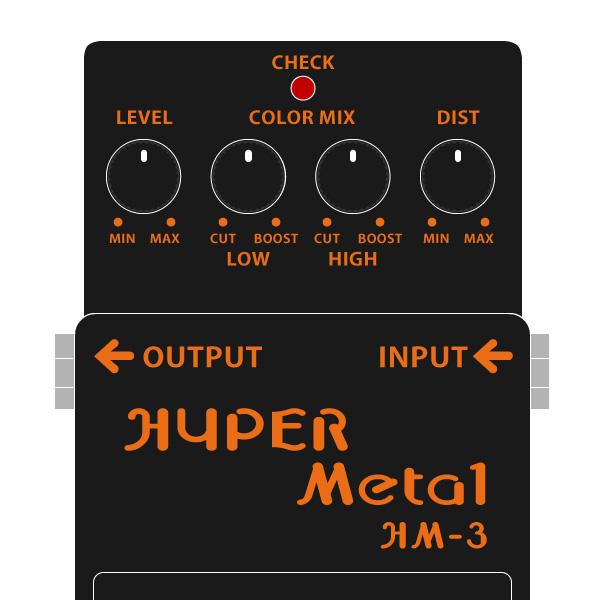 BOSS_HM-3_HYPER_Metal-ハイパーメタルイラスト