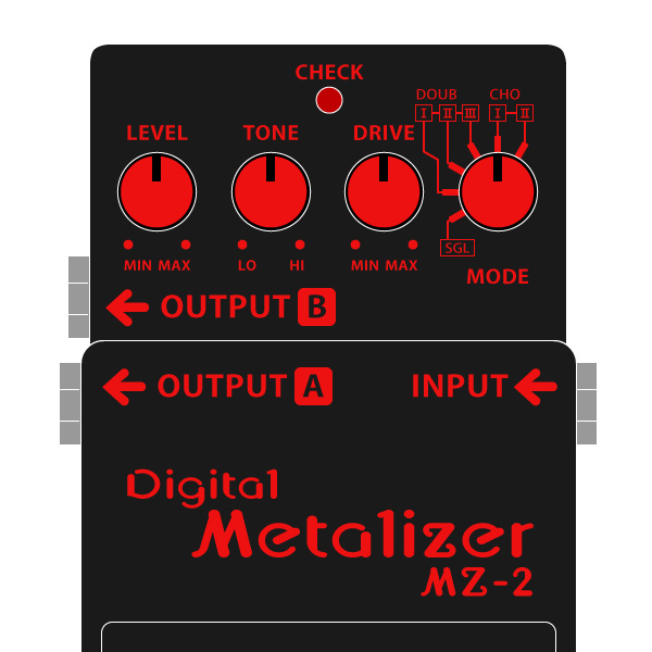 BOSS_MZ-2_Digital_Metalizer-デジタルメタライザーイラスト