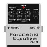PQ-4 Parametric Equalizer(パラメトリックイコライザー)