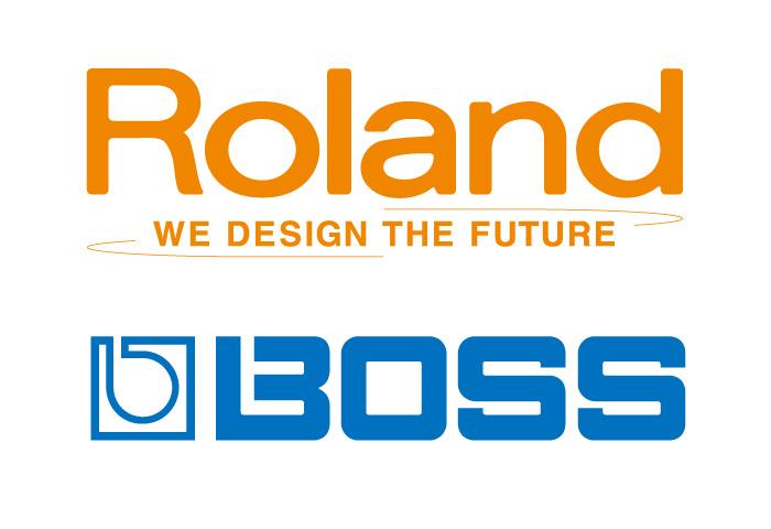 Roland-BOSSカラーロゴ