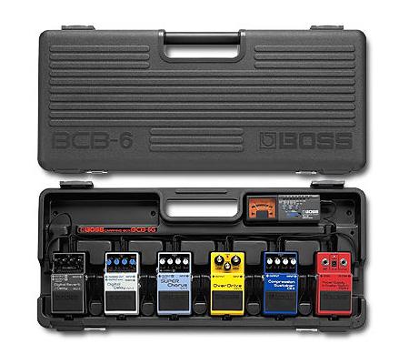 BOSSのエフェクター専用キャリングケース BCB-6
