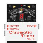 TU-3 Chromatic Tuner(ペダルチューナー)