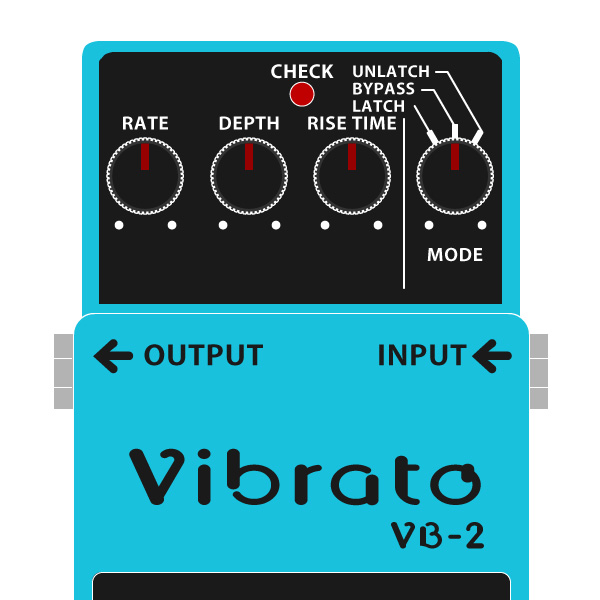 BOSS_VB-2_Vibrato_ビブラートイラスト
