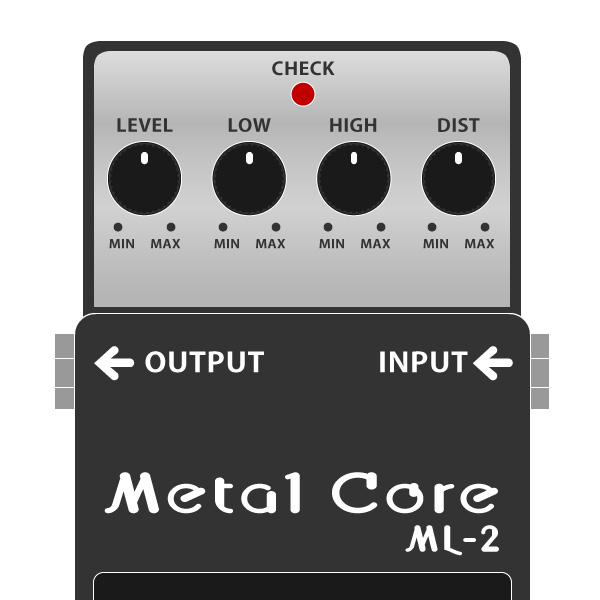 BOSS_ML-2_Metal_Core_メタルコアイラスト