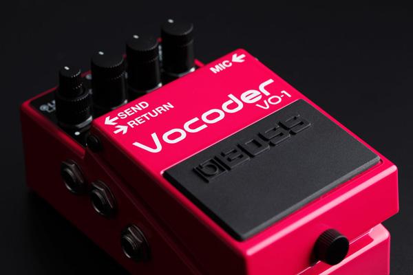 BOSSコン新製品_VO-1_Vocoder