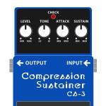 CS-3 Compression Sustainer(コンプレッション / サステイナー)