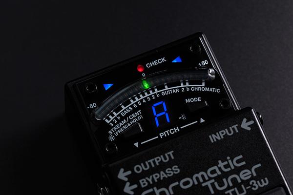 【BOSS新製品】技クラフトシリーズの新製品にペダルチューナーTU-3Wが発表!