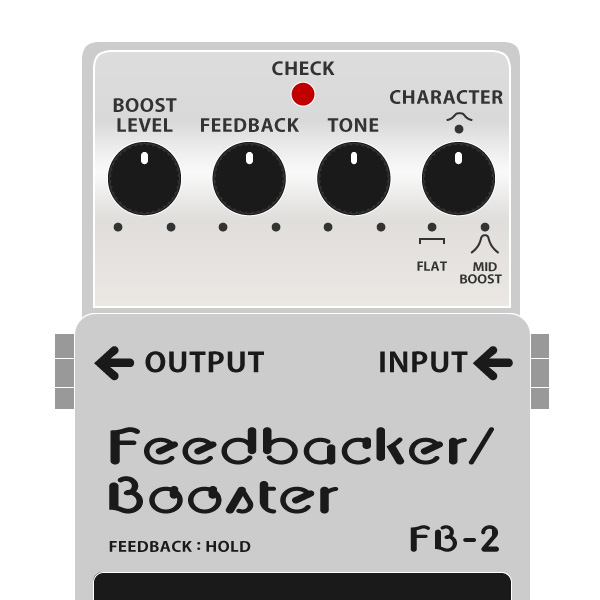 BOSS_FB-2_Feedbacker-Booster_フィードバッカー・ブースターイラスト