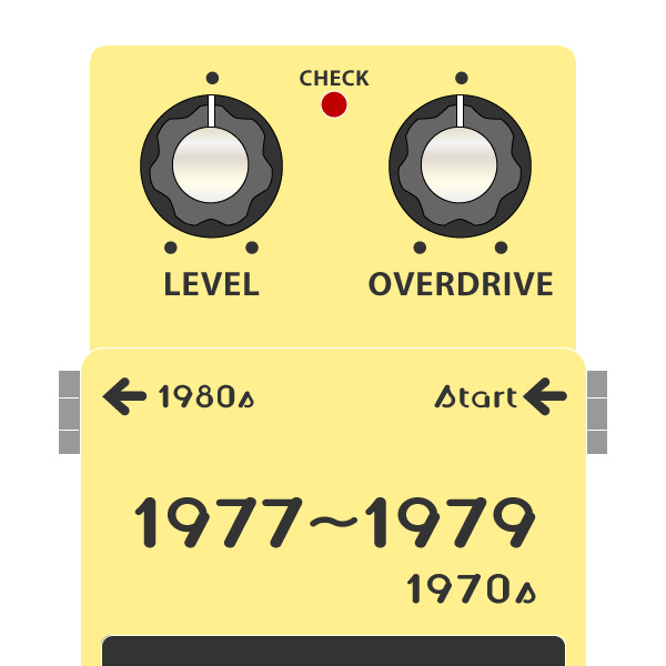 BOSSコンパクトエフェクターの発売時期・発売順まとめ_1970年代