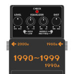 BOSSコンパクトエフェクター 全機種発売日・発売順まとめ 1990年代