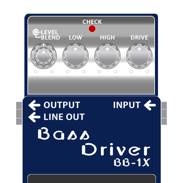 BOSS_BB-1X_BassrDriver_ベースドライバーイラスト