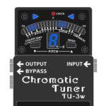 TU-3W Chromatic Tuner WAZA Craft(ペダルチューナー・技クラフトシリーズ)