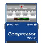 CP-1X compressor(ギター専用コンプレッサー・Xシリーズ)
