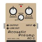 AD-2 Acoustic Preamp(アコースティックギター用プリアンプ)