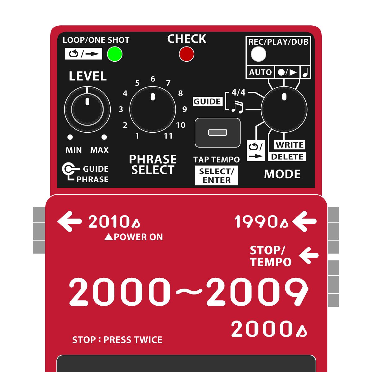 BOSSコンパクトエフェクター 全機種発売日・発売順まとめ 2000年代