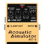 AC-3 Acoustic simulator(アコースティックシミュレーター)