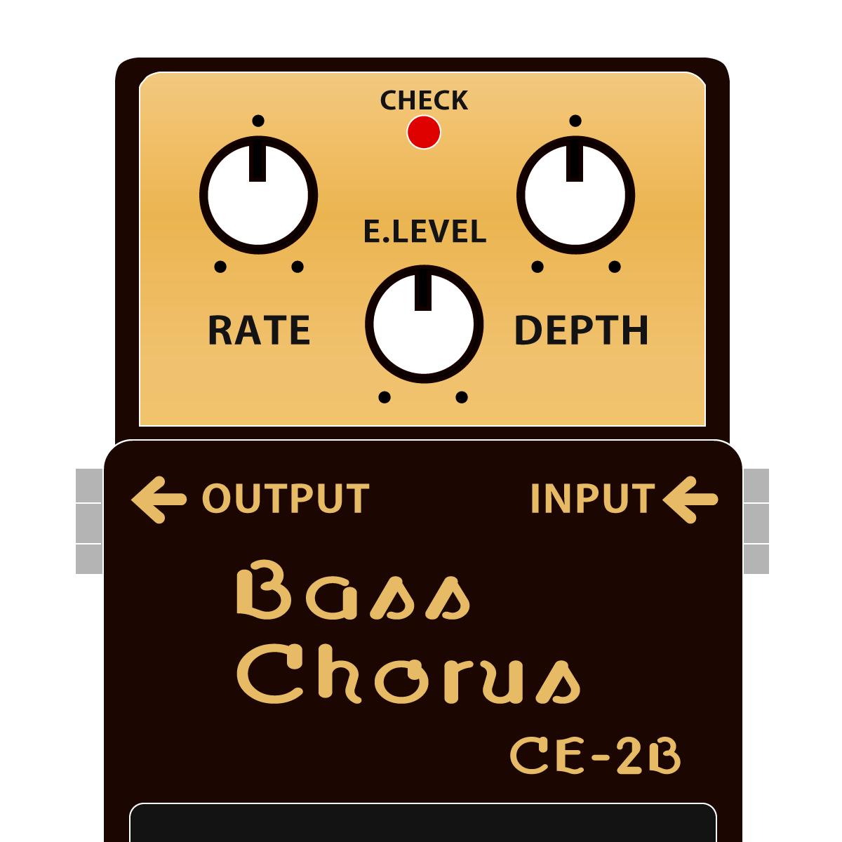 CE-2B Bass Chorus(ベース専用コーラス)