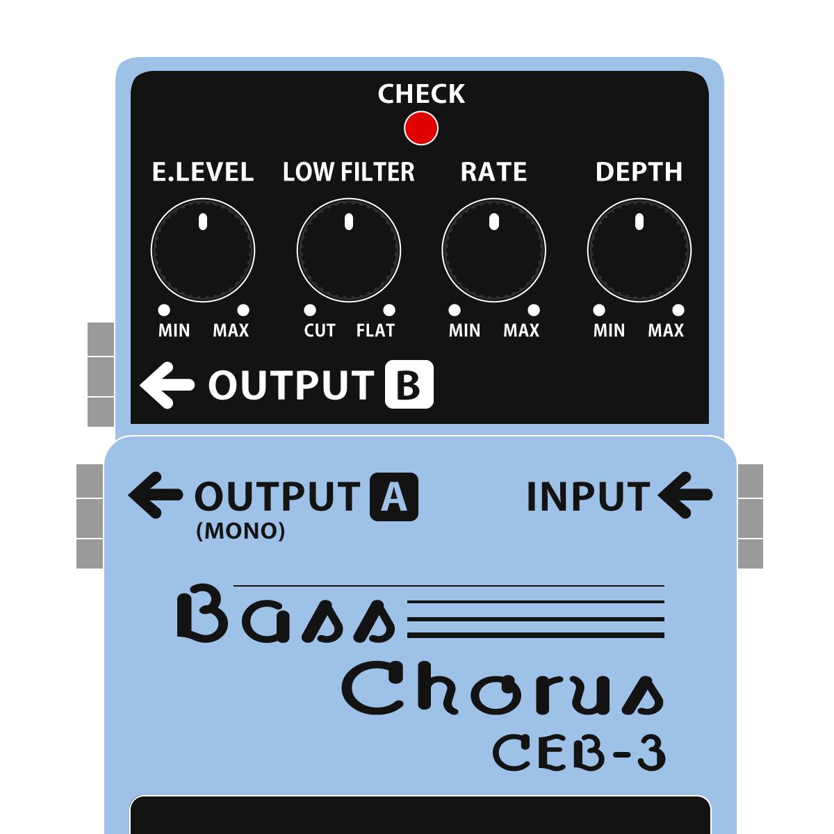 CEB-3 Bass Chorus(ベース専用コーラス)