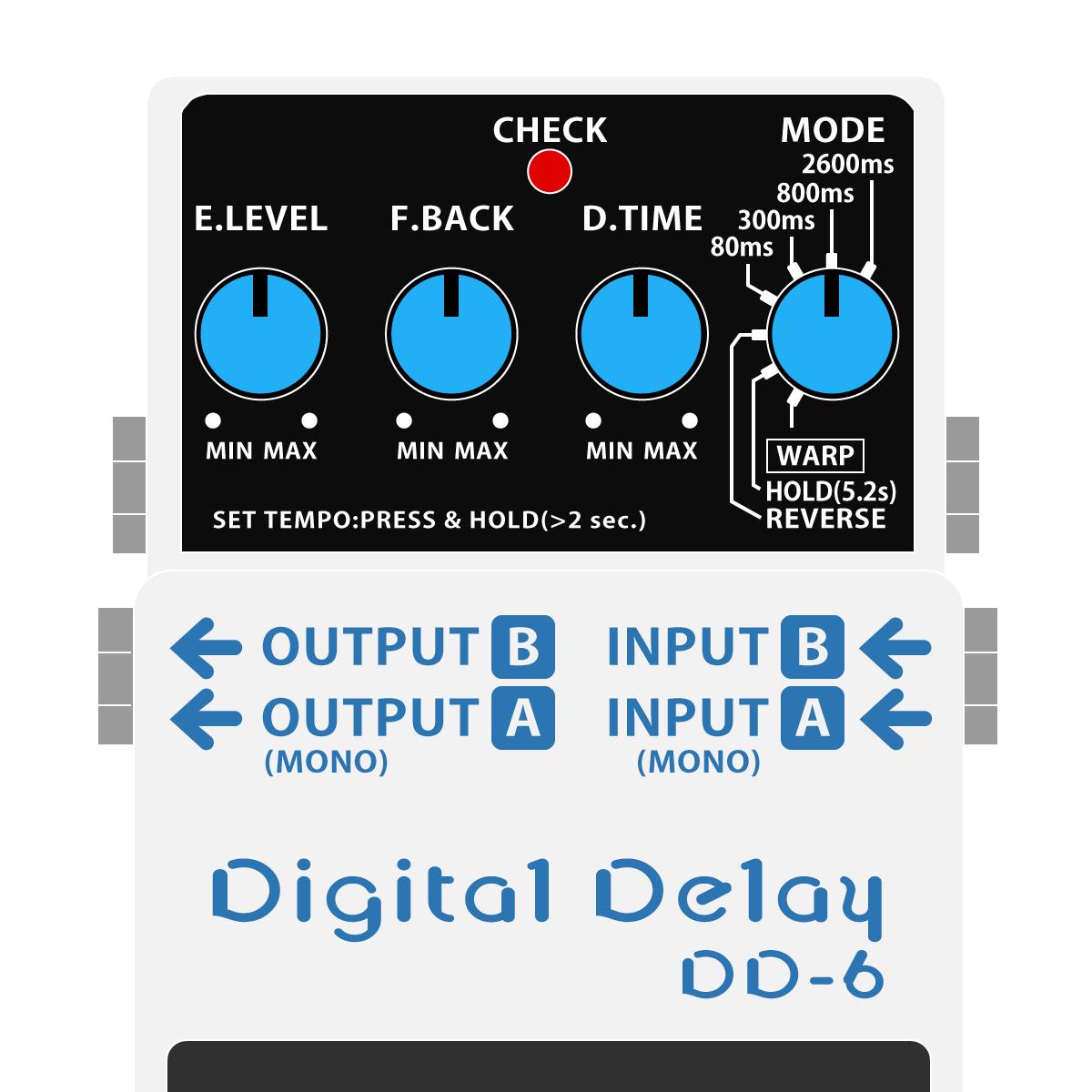 DD-6 Digital Delay(デジタルディレイ)