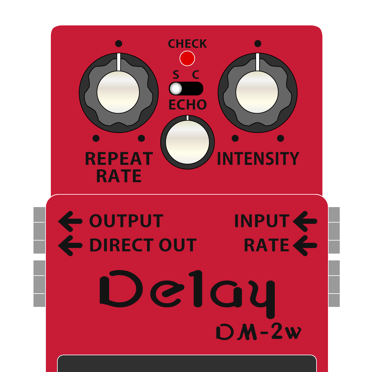 DM-2W Delay WAZA CRAFT(アナログディレイ・技クラフト)
