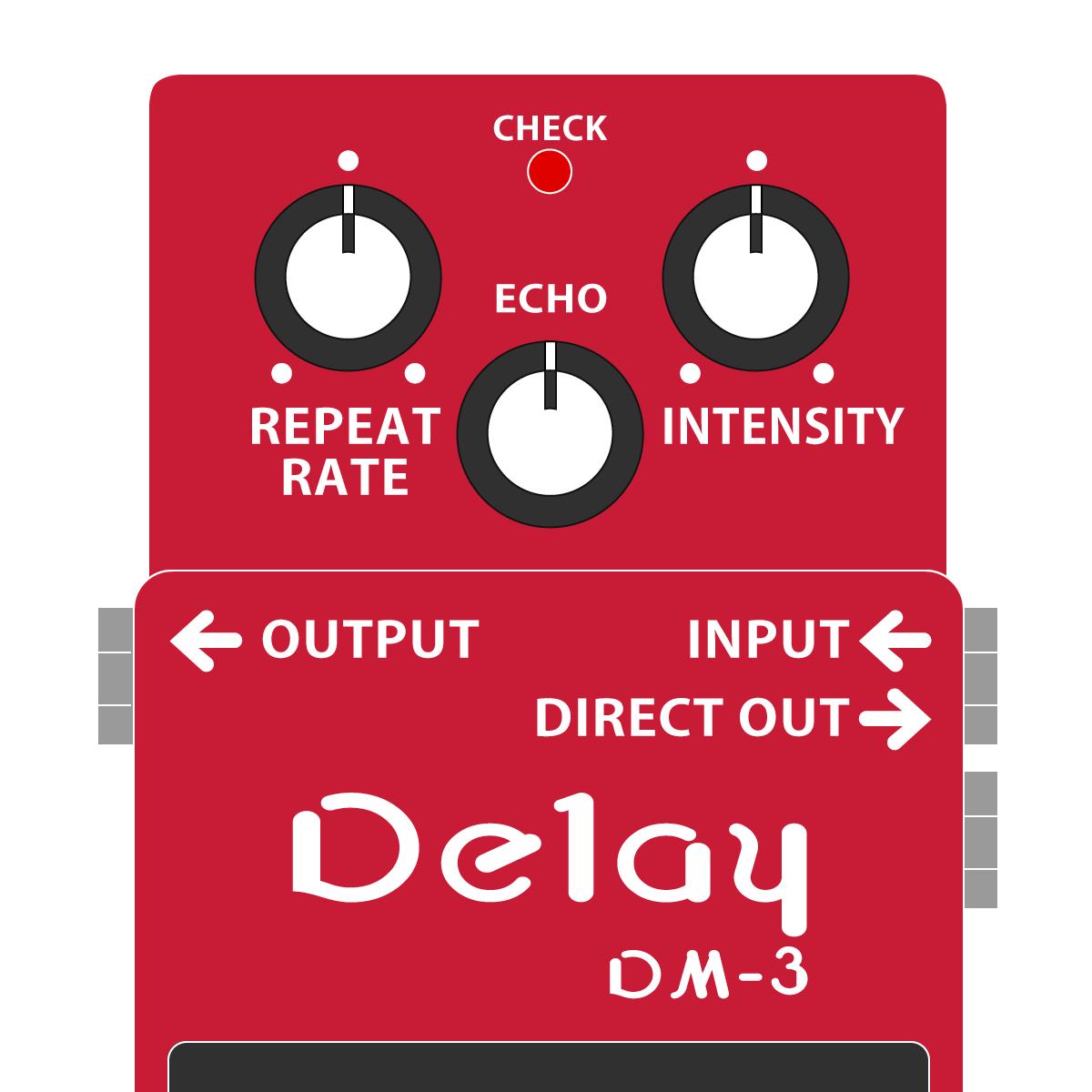DM-3 Delay(アナログディレイ)