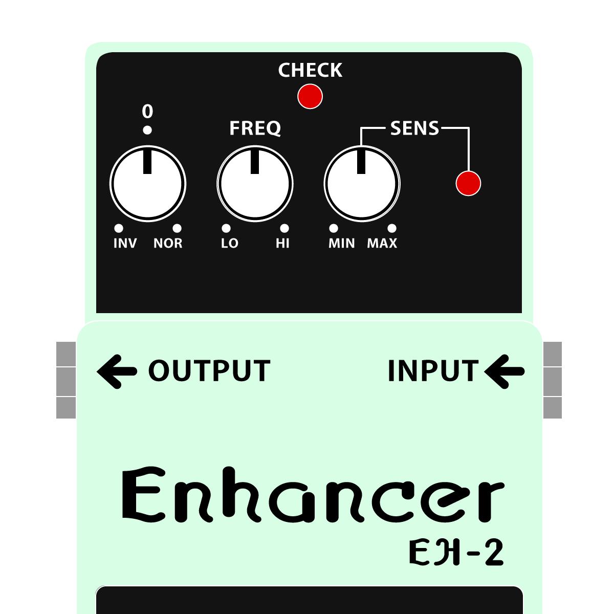BOSS EH-2 Enhancer エンハンサーイラスト
