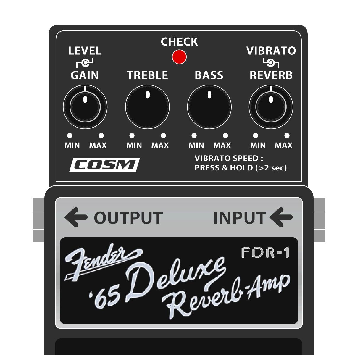 FDR-1 Fender '65 Deluxe Reverb Amp(BOSSレジェンドシリーズ デラックスリバーブ)