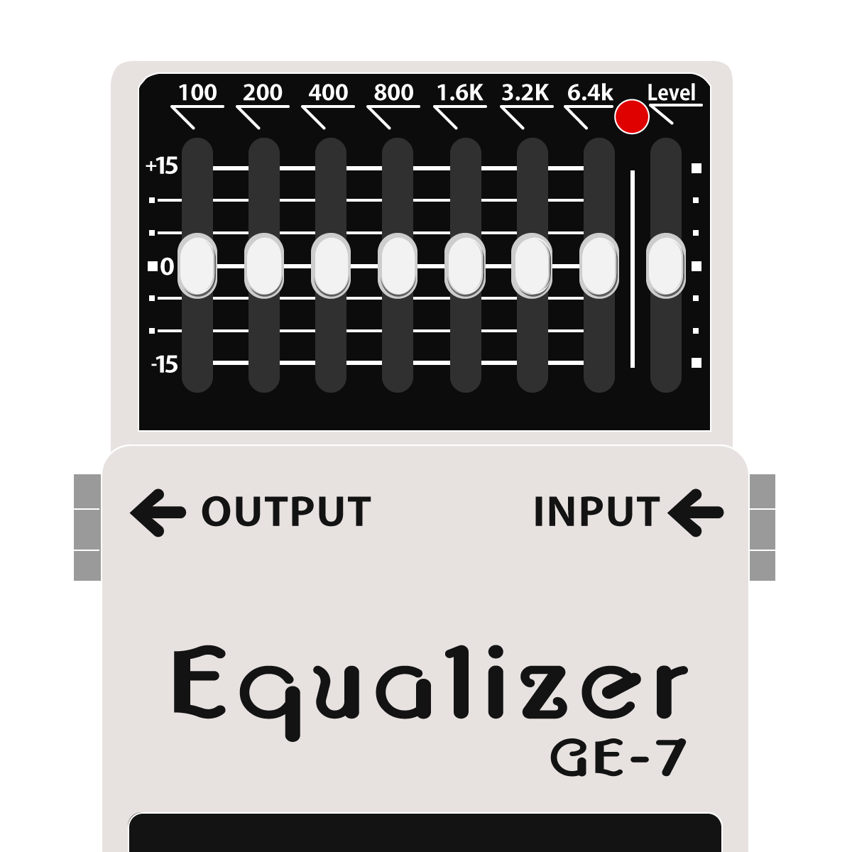 GE-7 Equalizer(グラフィックイコライザー)