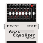 GEB-7 Bass Equalizer(ベース用グラフィックイコライザー)