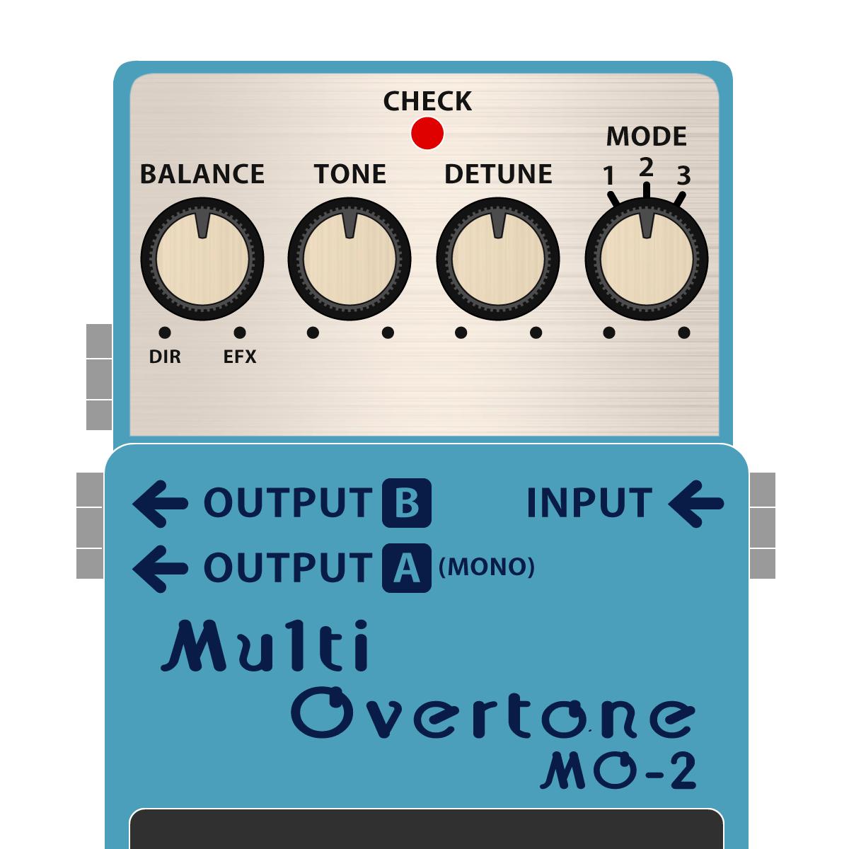 MO-2 Multi OverTone(マルチオーバートーン)