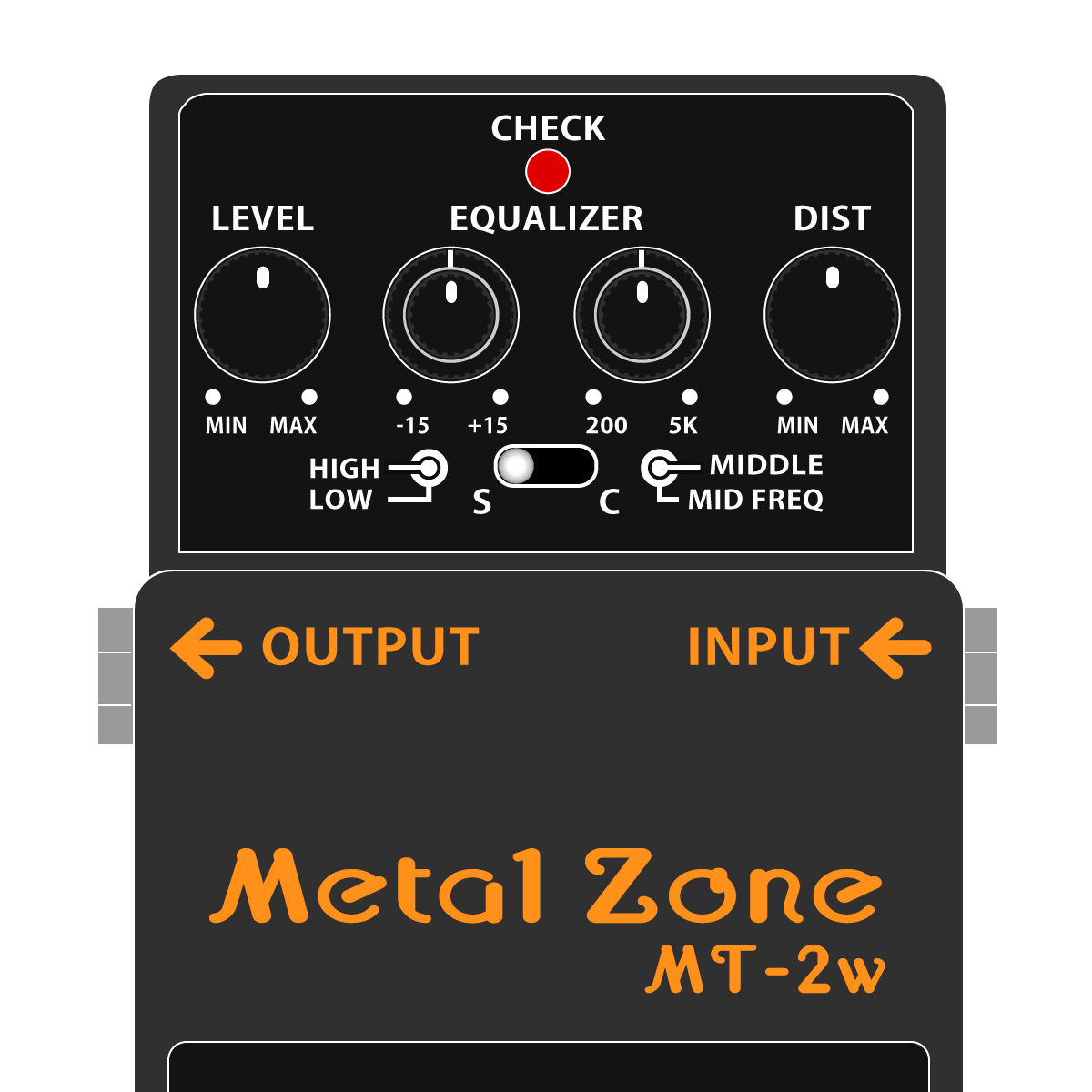 MT-2W Metal Zone WAZA Craft(メタルゾーン・技クラフトシリーズ)