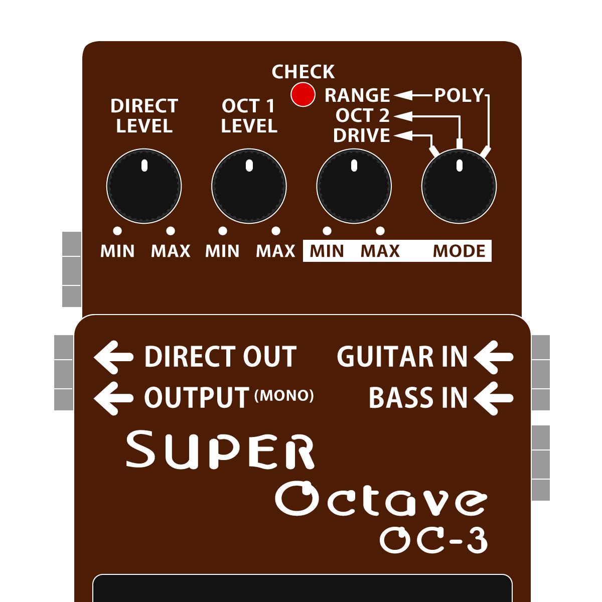 OC-3 SUPER Octave(スーパーオクターブ)